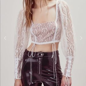 For Love and Lemons Lace Top